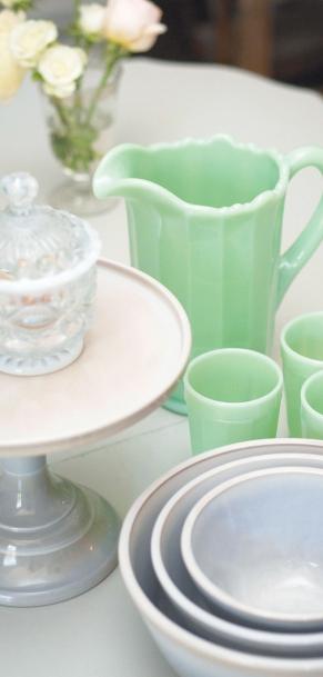 glassware pitcher