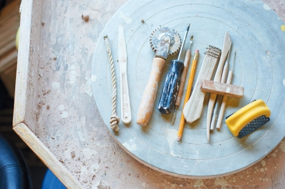 pottery materials