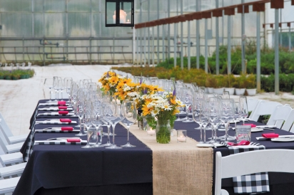 An earth-to-table dinner at The Culinary Vegetable Institute