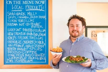 Todd Mills owner of Acre Restaurant