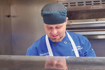 Executive Chef Jacob Hough of Barcelona Restaurant and Bar in German Village.