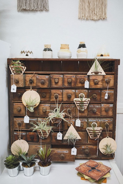 The unique wares are curated by the store's six owners