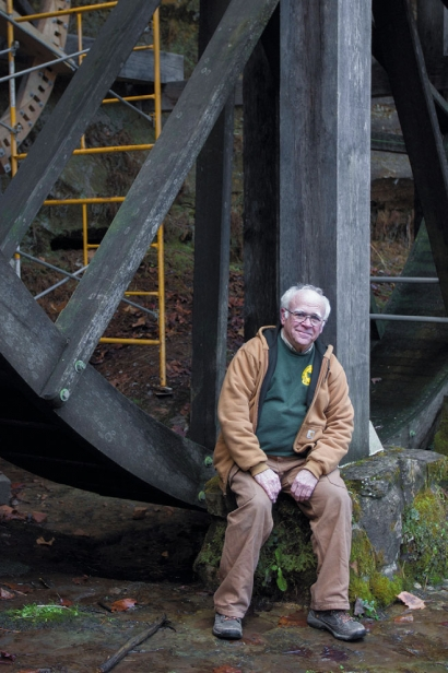 Dave Fey, the newly retired Fairfield County Historical Parks Commission Director