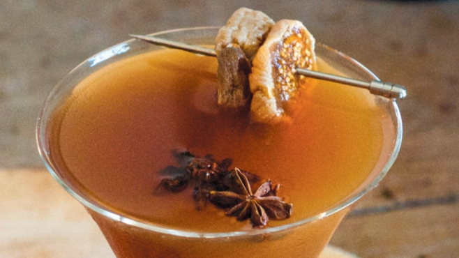 fortified fig manhattan cold weather spirit