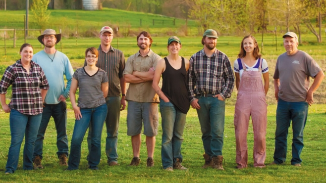 farmers of the farmer-owned cooperative, Great River Organics