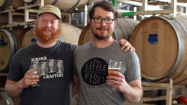 Little Fish Brewing Company owners