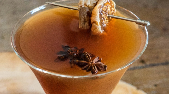 Fortified Fig Manhattan